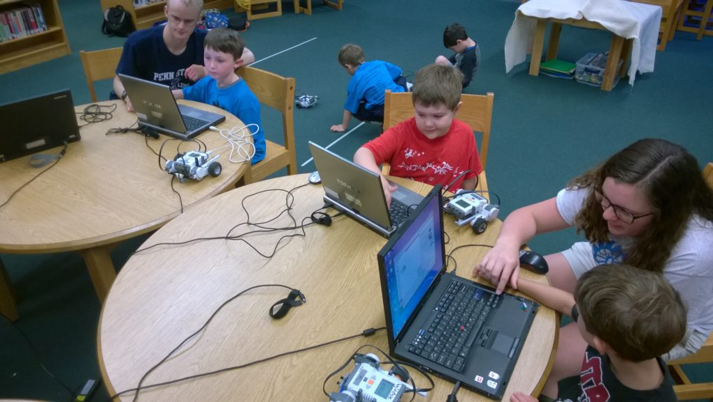 junior coding stem camp