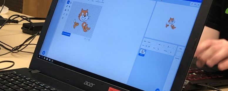Coding with Scratch: Join us online!