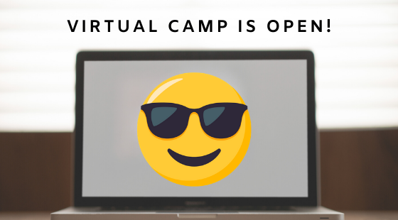 Registration is open for our 2020 Virtual Summer Camp